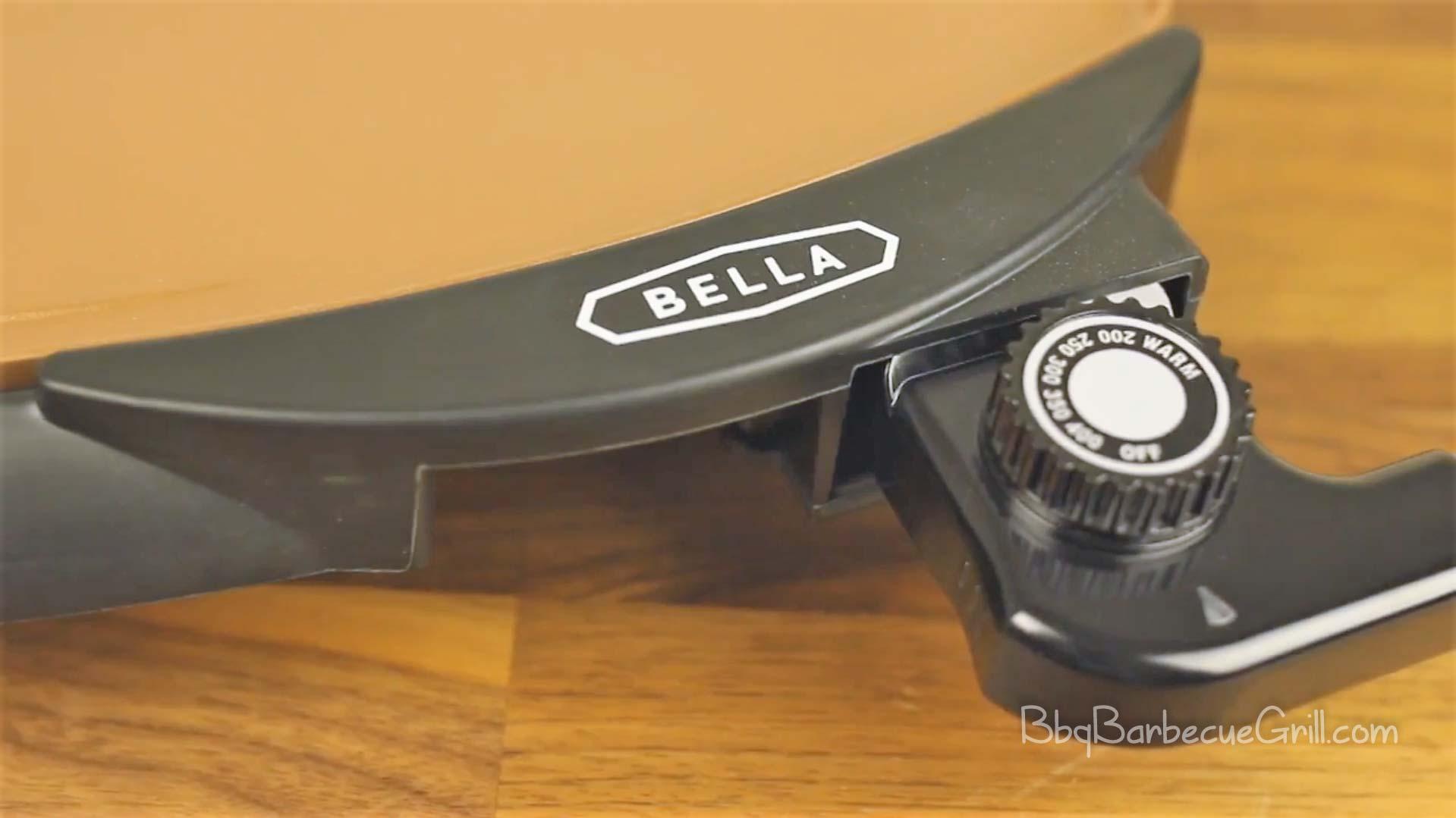 BELLA 14606 Copper Titanium Coated Non-Stick Electric Griddle