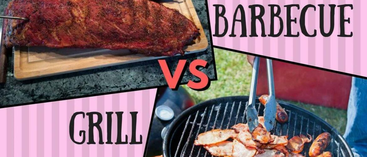 Barbecue vs grill