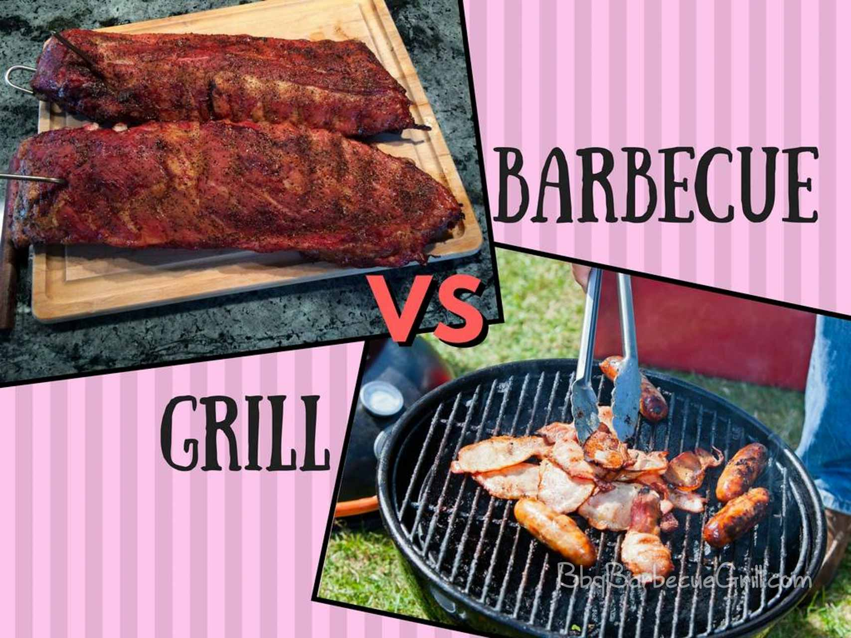 Barbecue Vs Grill Your Everyday Primer Bbq Grill