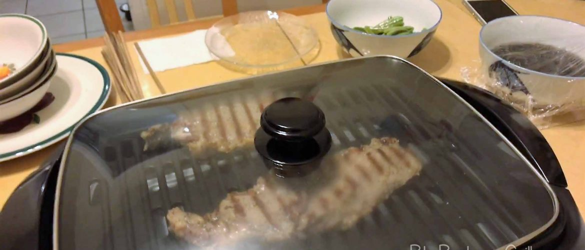 Best Electric grill with glass lid
