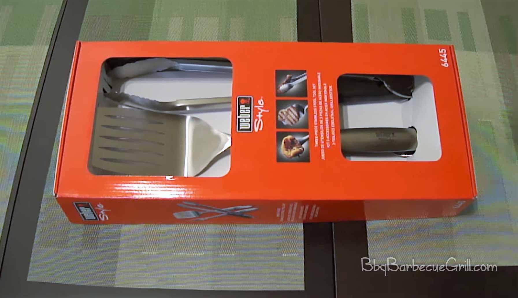 Best Weber grill tool set