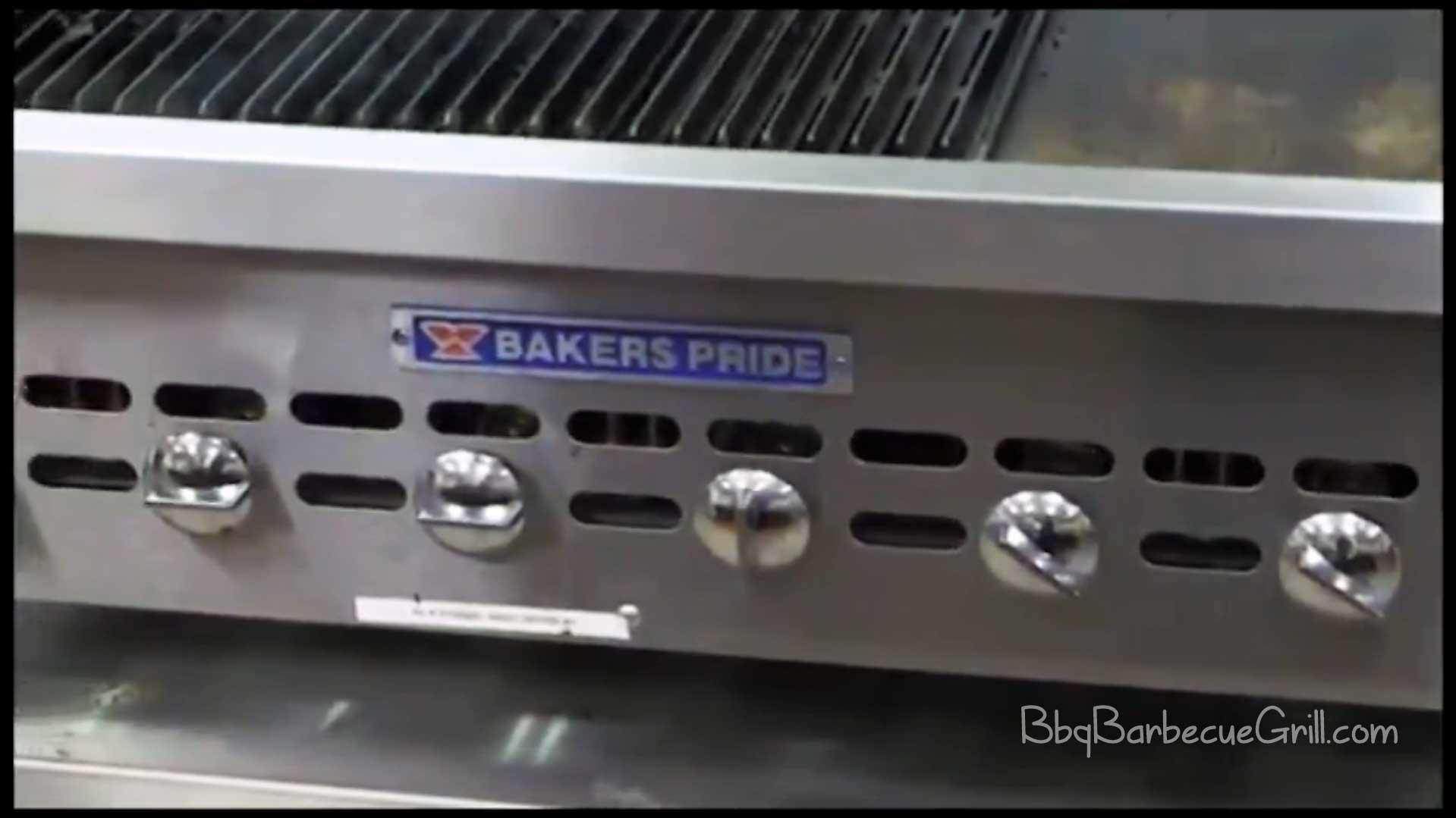 Best bakers pride charbroiler