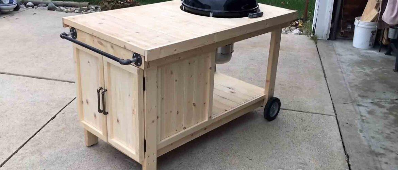 Best bbq grill cart