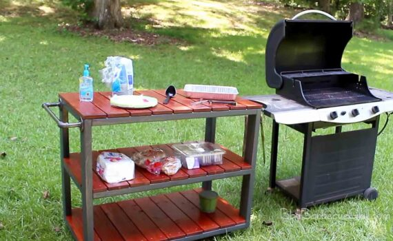 Best bbq prep station