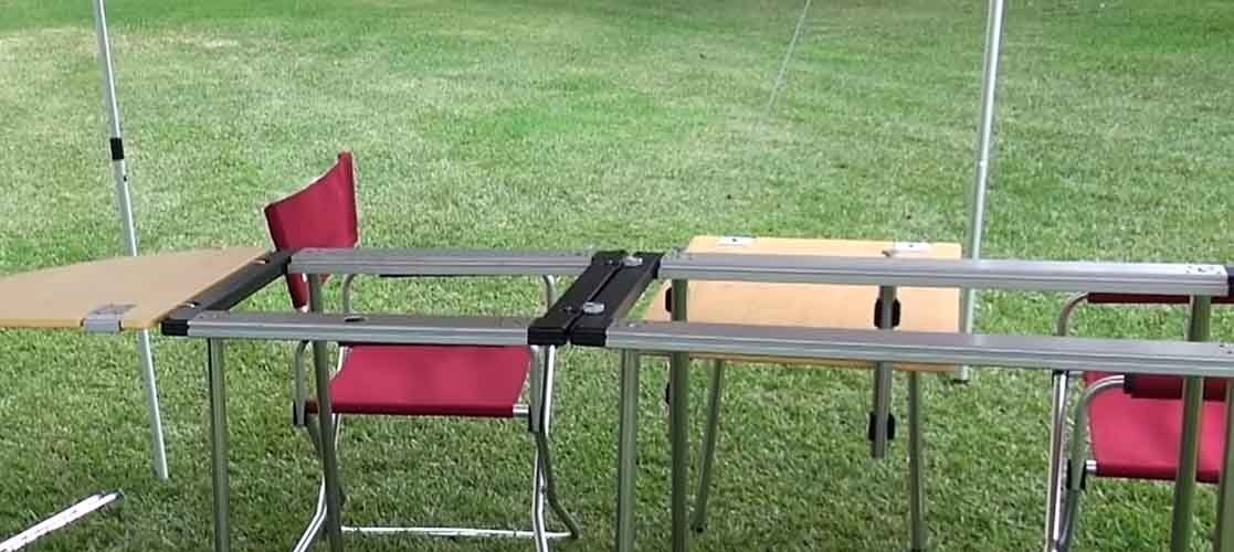 Best camping grill table