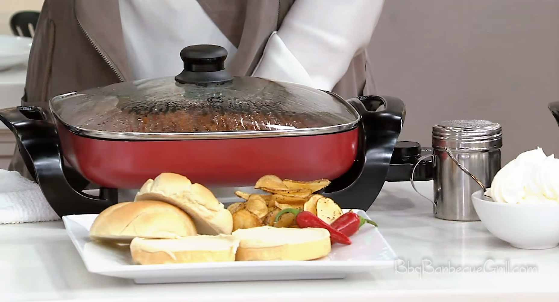 Best electric griddle with lid