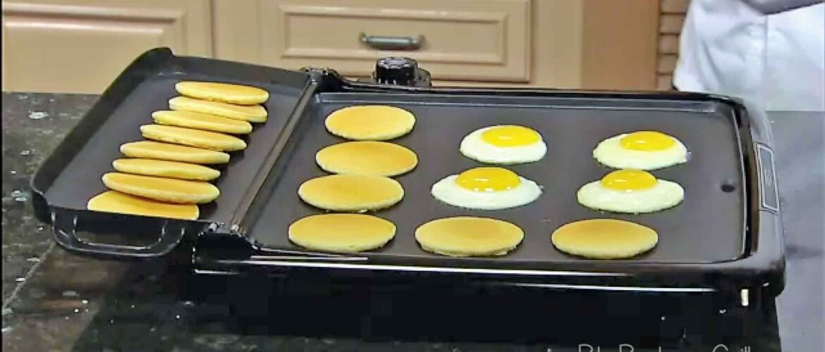 Best electric griddle with sides