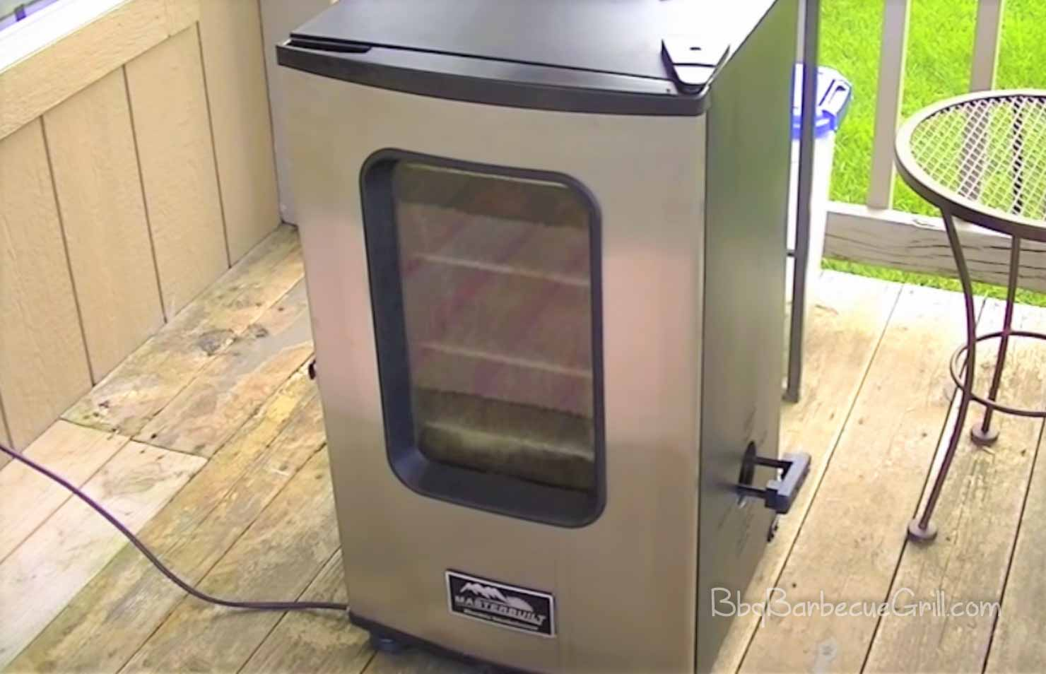 Best electric smoker with window