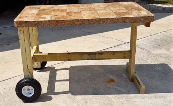 Best mobile grill cart