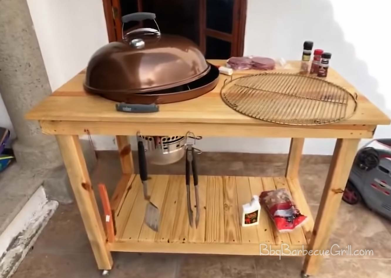 Best outdoor bbq cart
