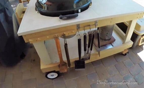 Best outdoor grill cart