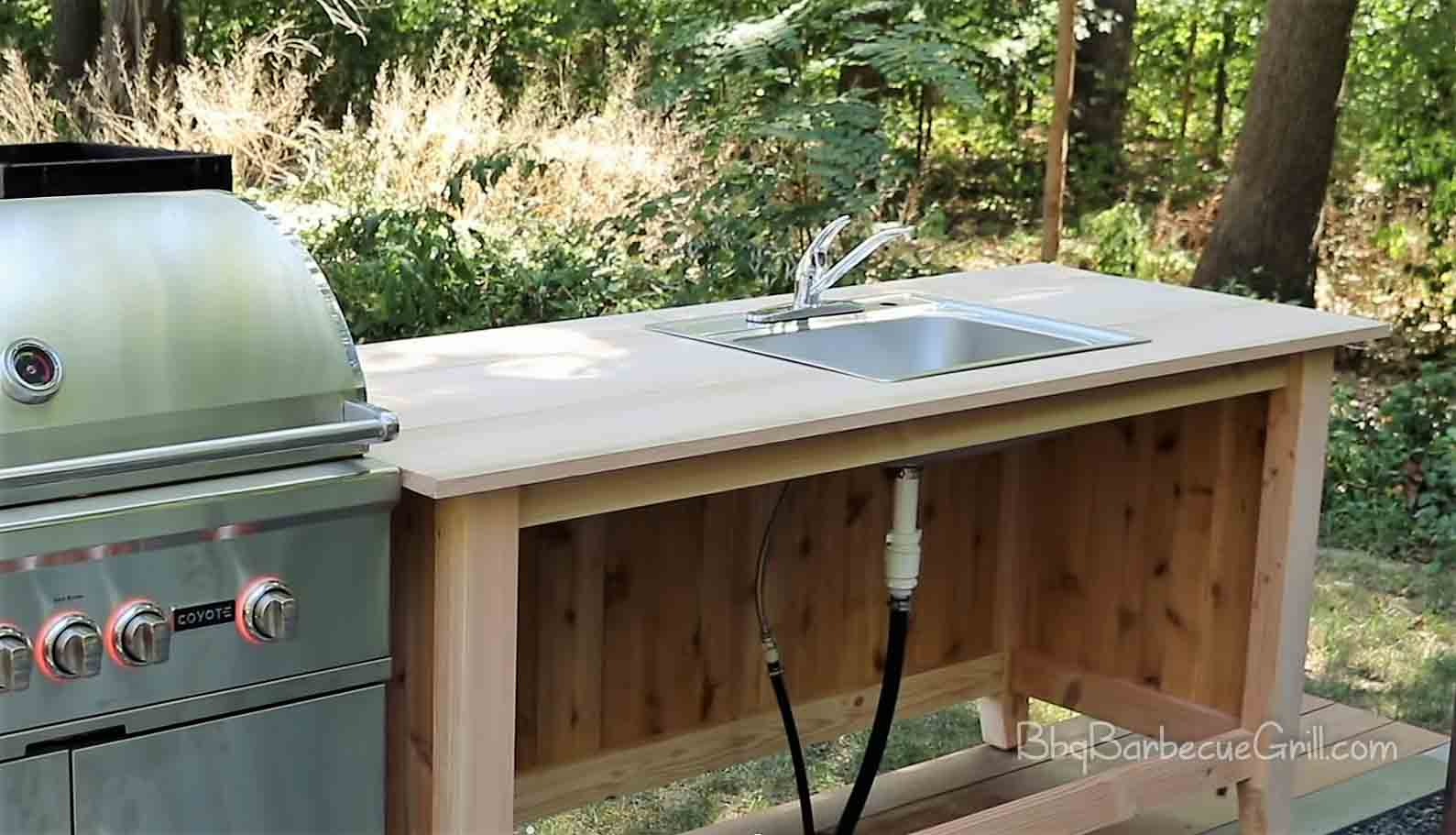 Best outdoor grill prep table