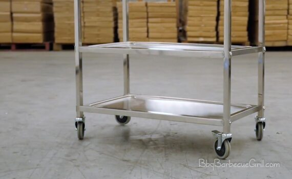 Best stainless steel grill cart