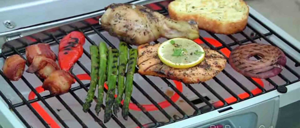 Best stand up electric grill