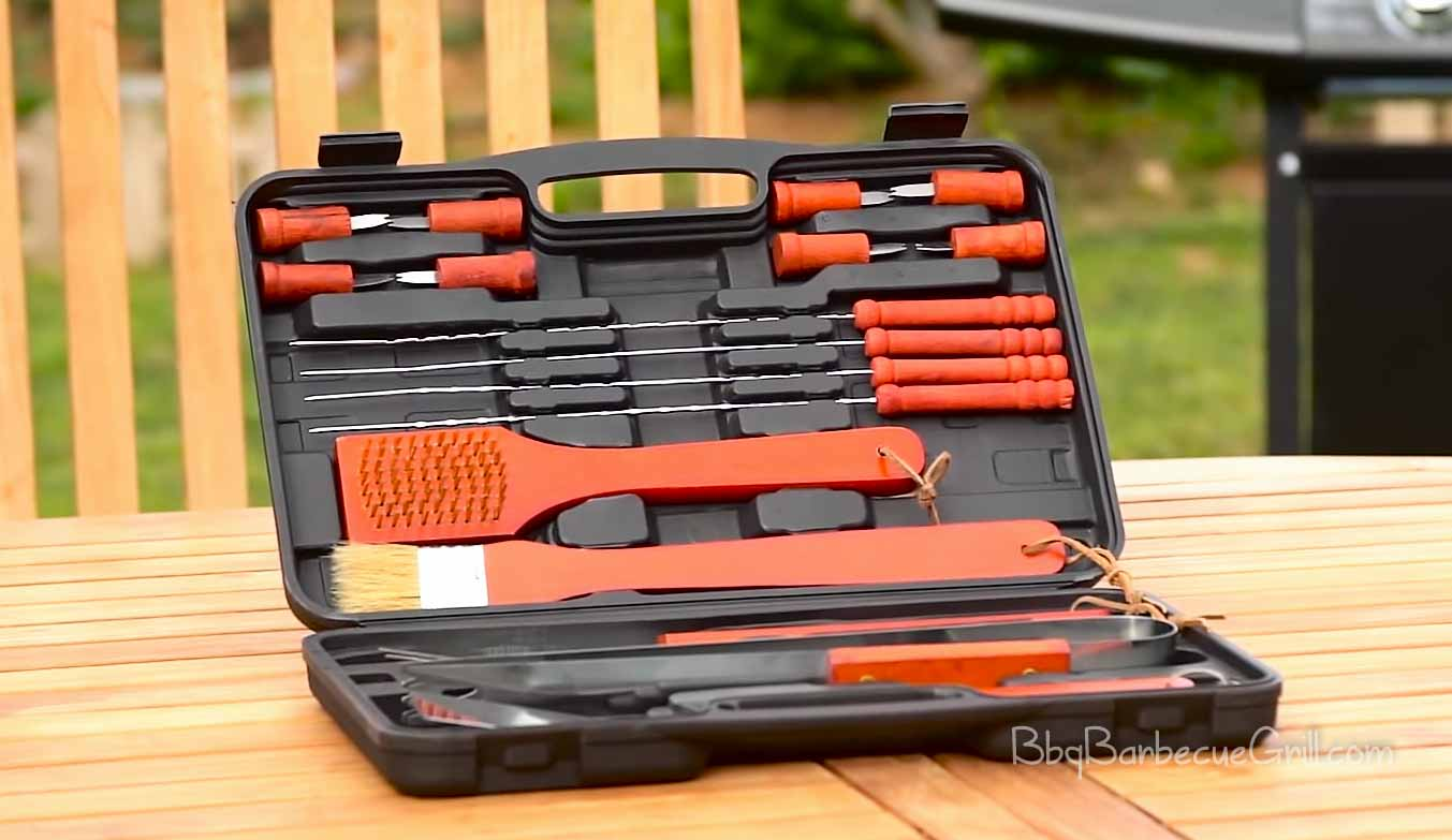 Best wood handle grill tools