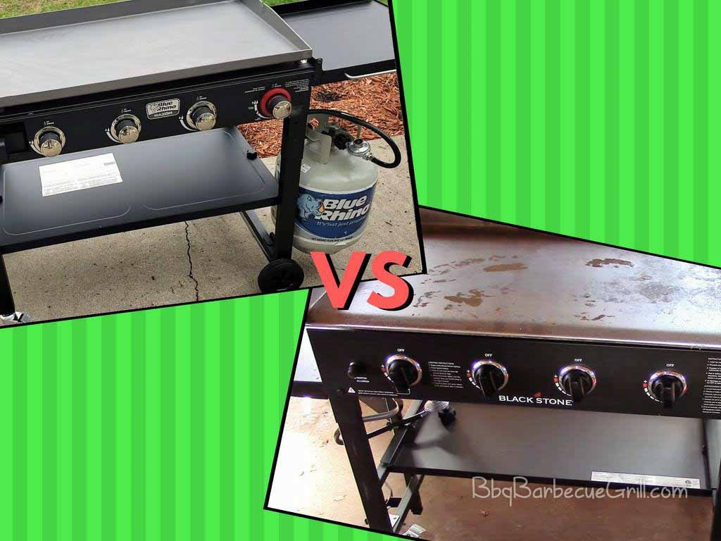 Blackstone Griddle vs Blue Rhino