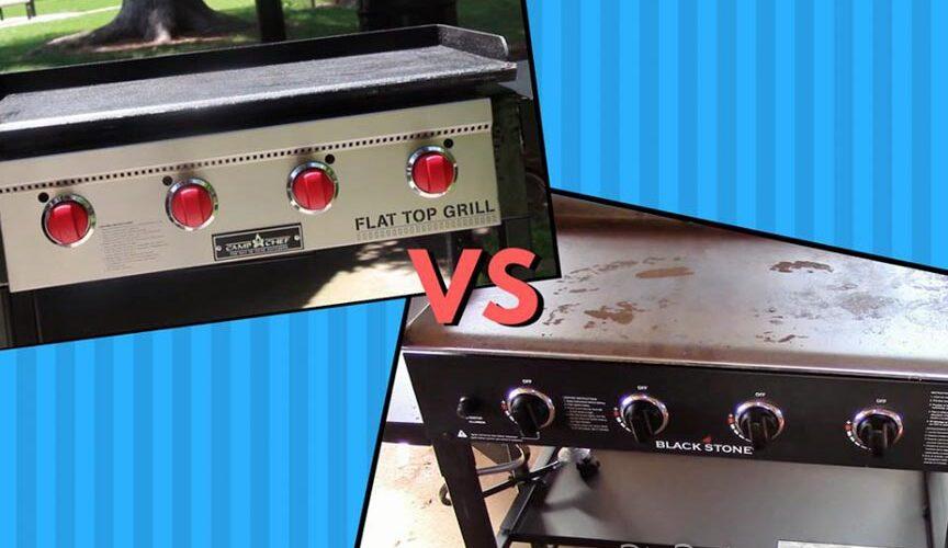 Blackstone Griddle vs Camp Chef