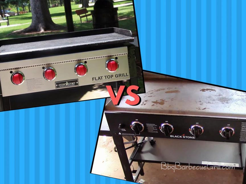 Blackstone Griddle vs Camp Chef