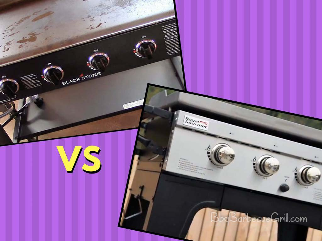 Blackstone griddle vs outdoor Royal Gourmet