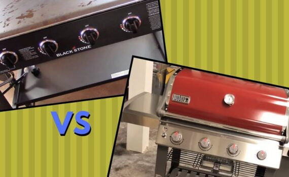 Blackstone griddle vs weber grill