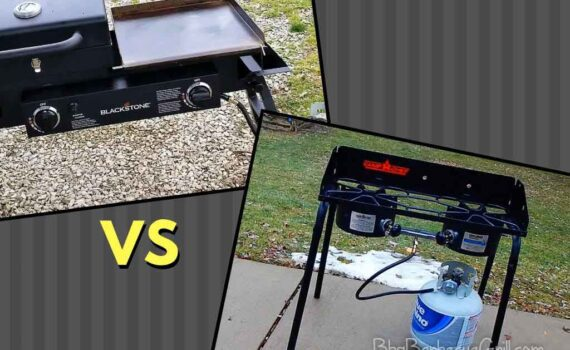 Blackstone tailgater vs camp chef