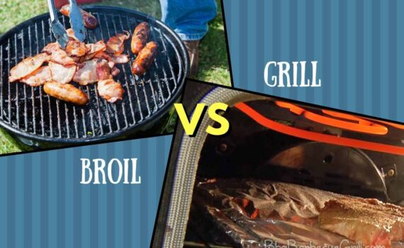 Broil vs grill