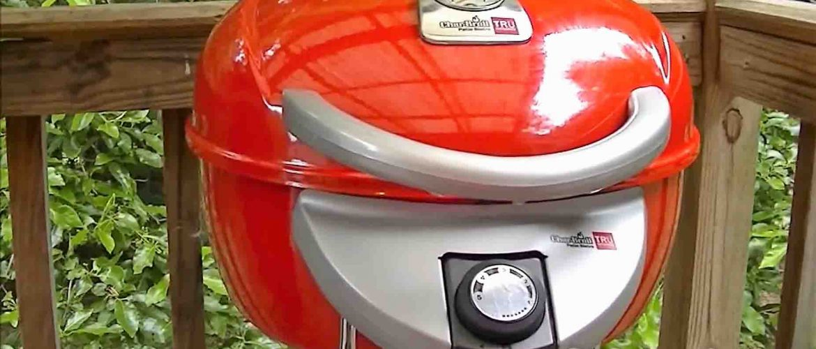 An Ultimate User Guide: Char Broil Tru Infrared Patio Bistro Electric Grill,  Red