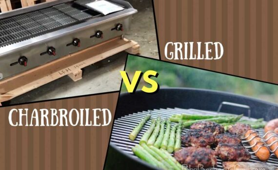 Charbroiled vs grilled