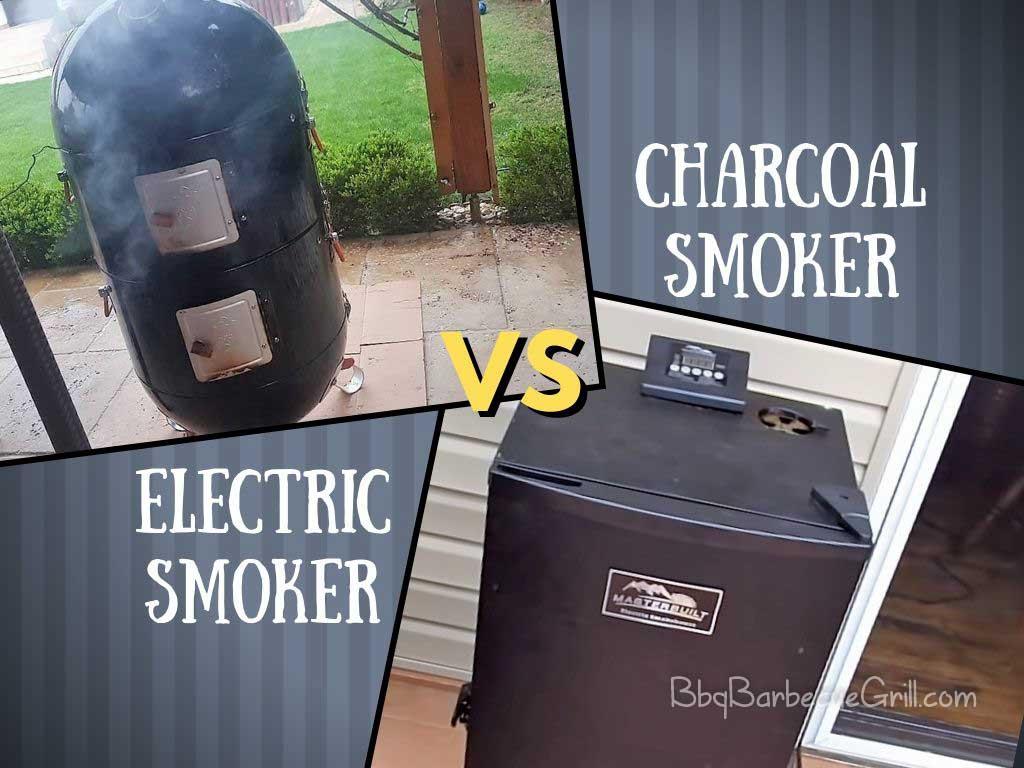 Electric Smoker vs. Charcoal Smoker
