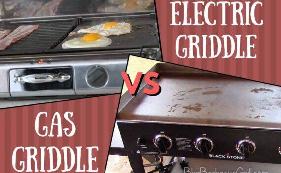 Electric griddle vs gas griddle