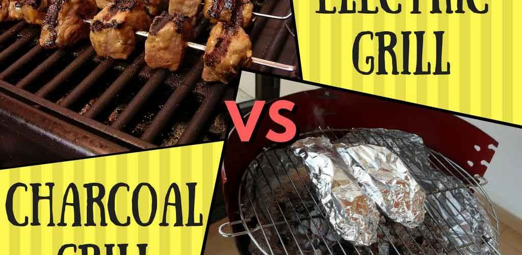 The Electric Grill Vs Charcoal What S Difference
