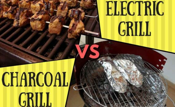 Electric grill vs charcoal grill