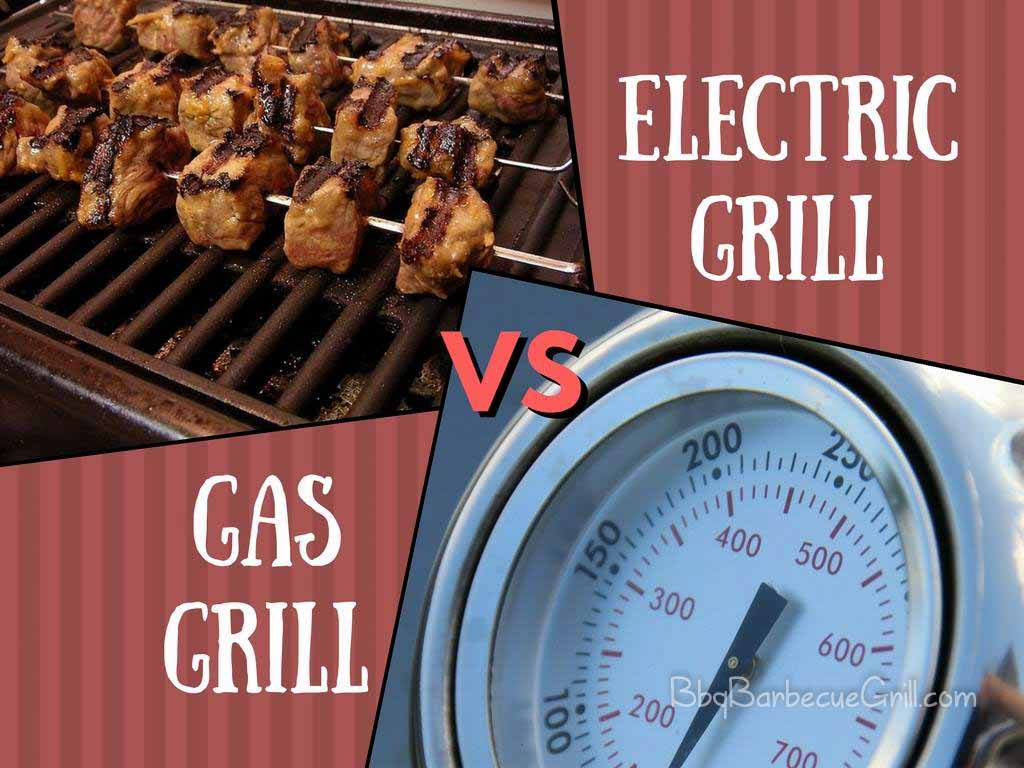 Weber Elektrogrill Vs Gasgrill : Electric grill vs. gas grill: whats the difference? bbq grill
