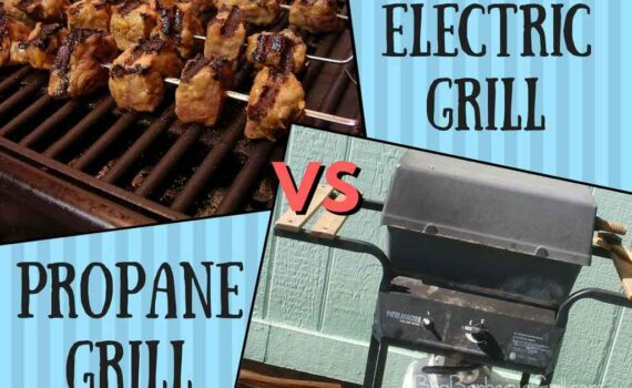 Electric grill vs propane grill