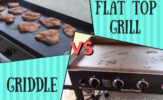 Flat top grill vs griddle