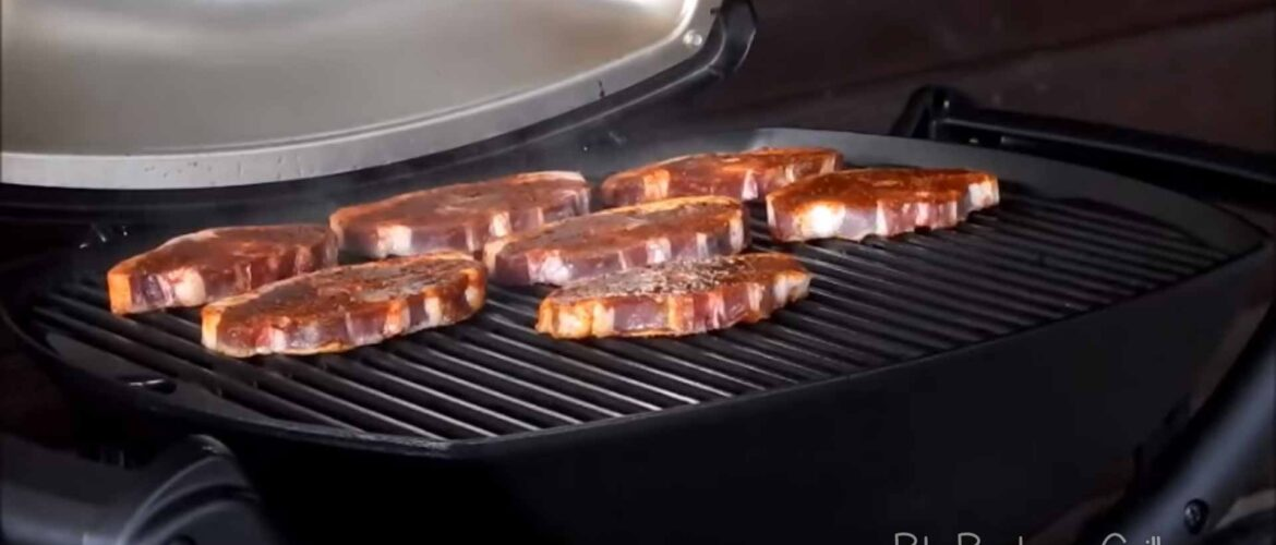 Full size electric grill