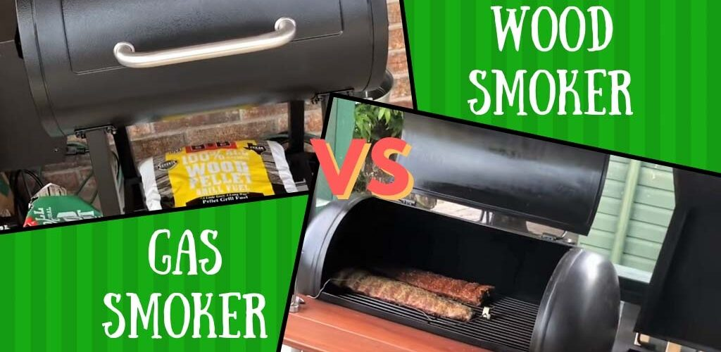 Gas smoker vs wood smoker