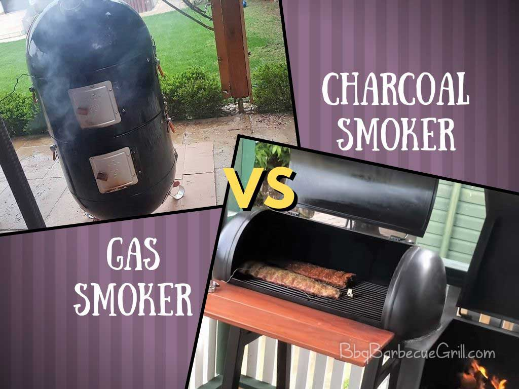 Gas vs charcoal smoker