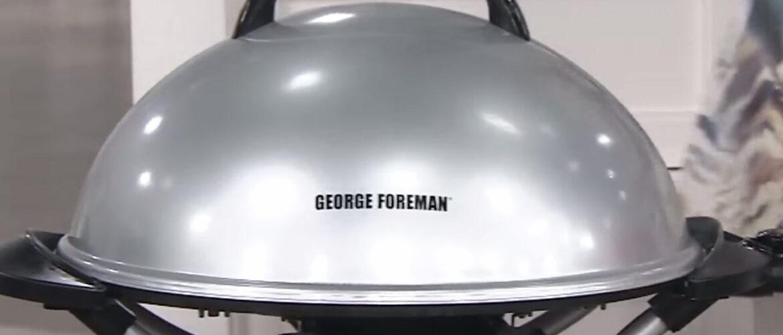 George Foreman 15-Serving IndoorOutdoor Electric Grill