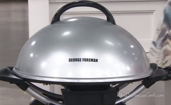 George Foreman 15-Serving IndoorOutdoor Electric Grill