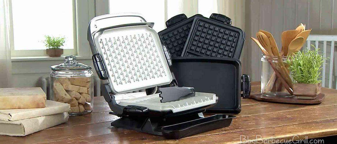 George Foreman GRP4842RB Multi-Plate Evolve Grill, Red