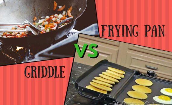 Griddle vs frying pan