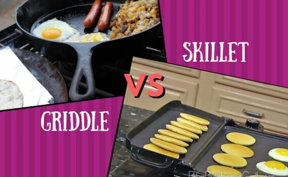 Griddle vs skillet