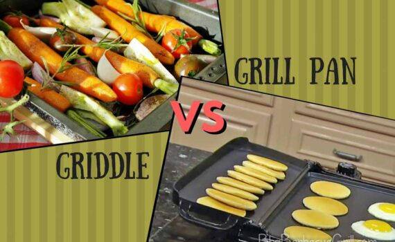 Grill pan vs griddle