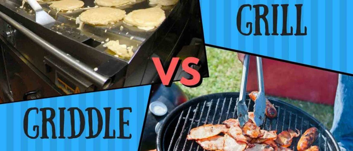 Grill vs griddle 1