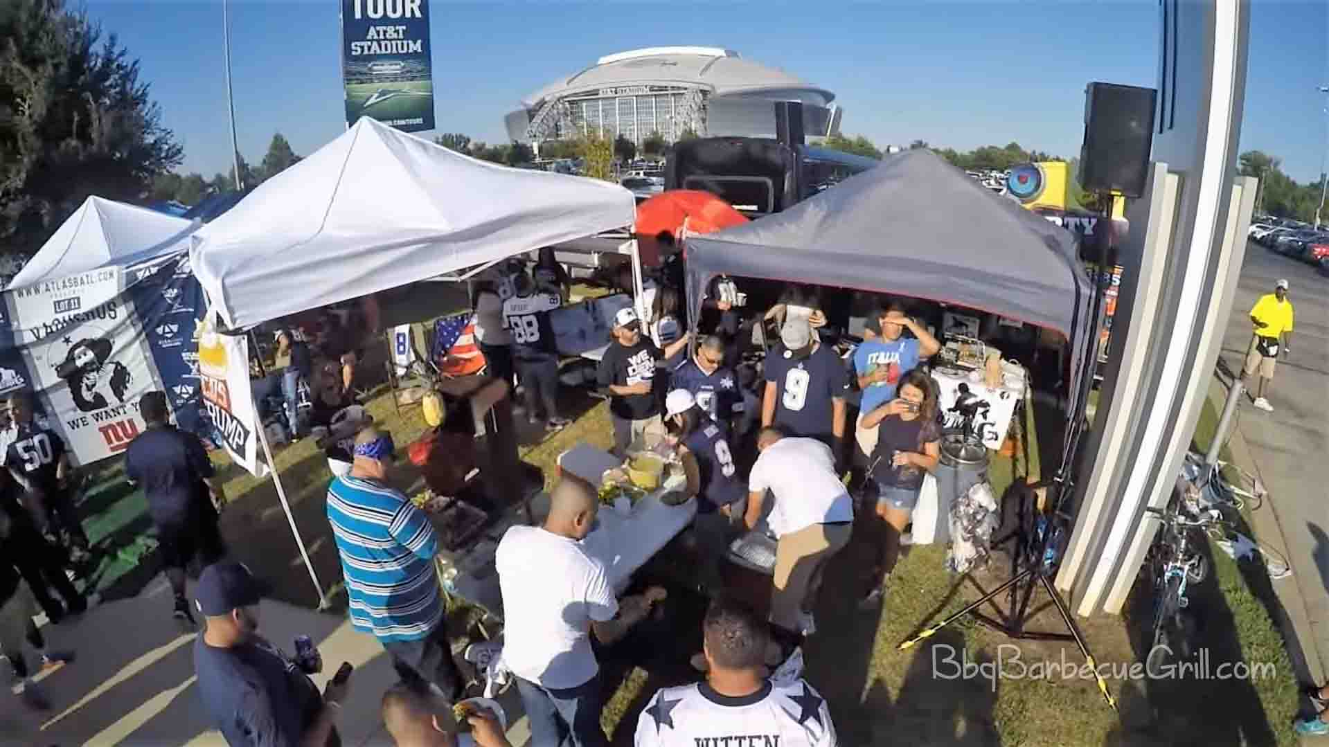 History of tailgating