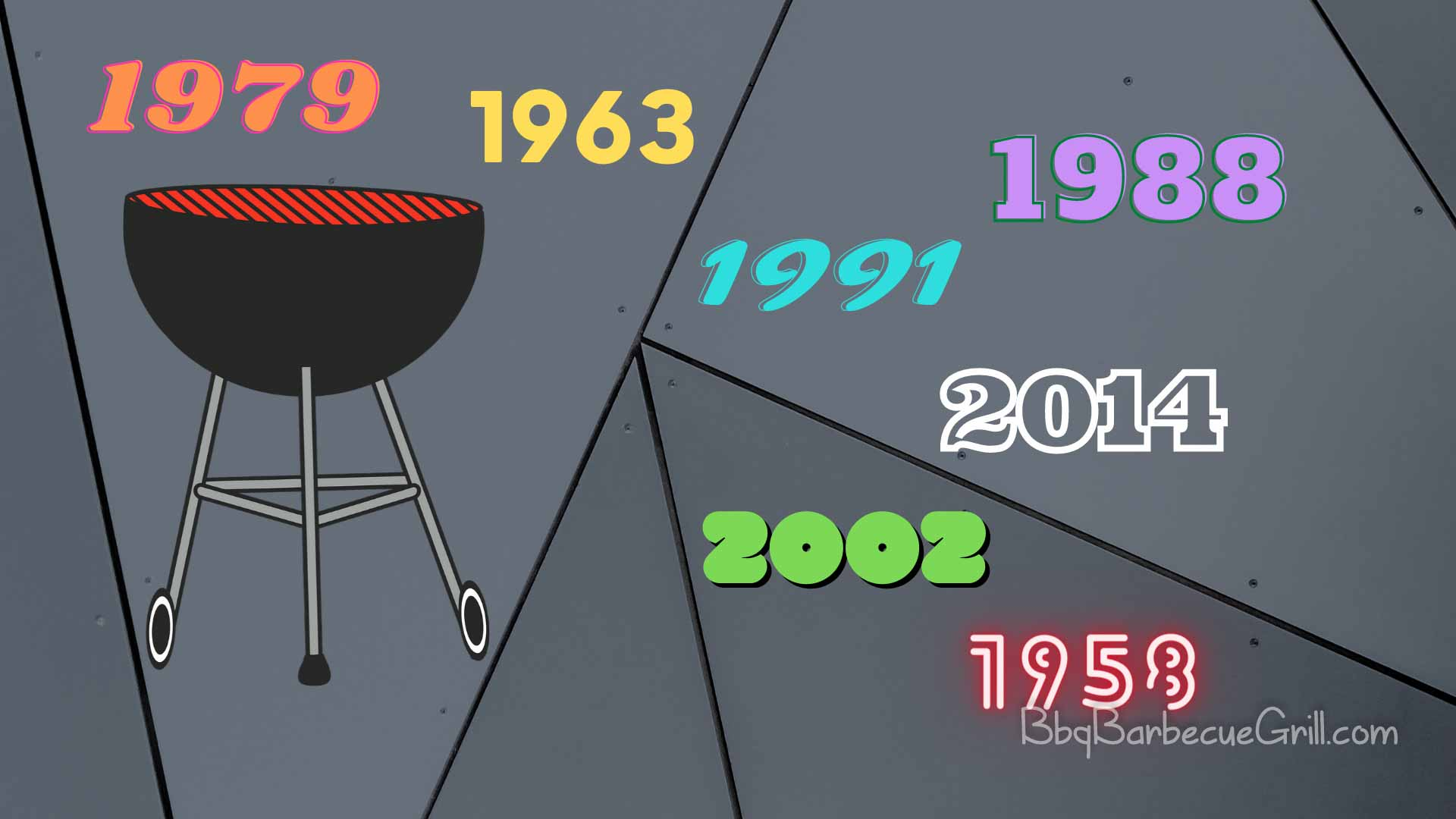 How old is my weber grill