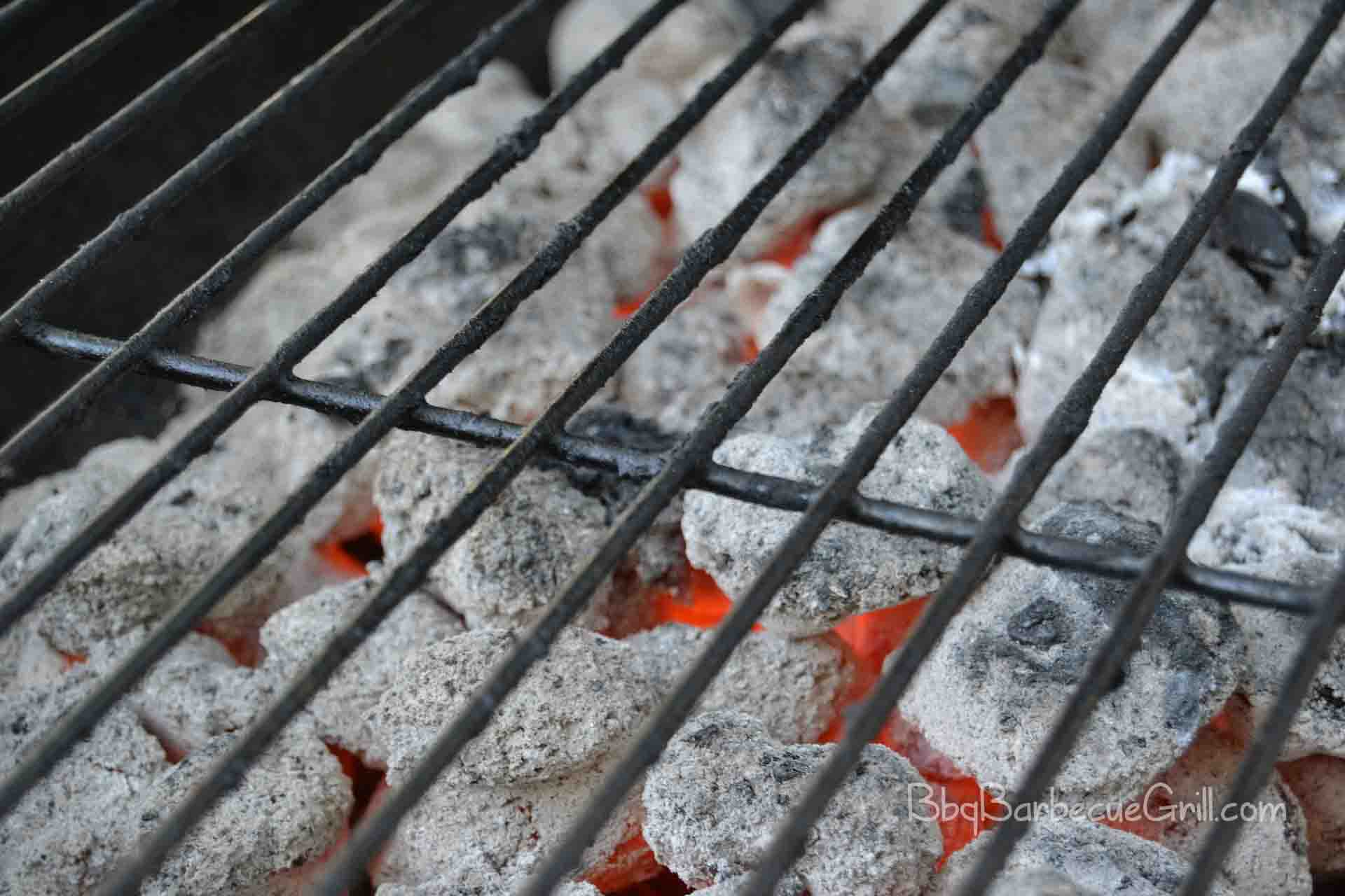 How to barbeque with charcoal