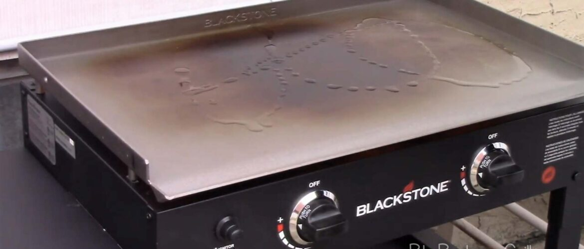 How to season a blackstone griddle