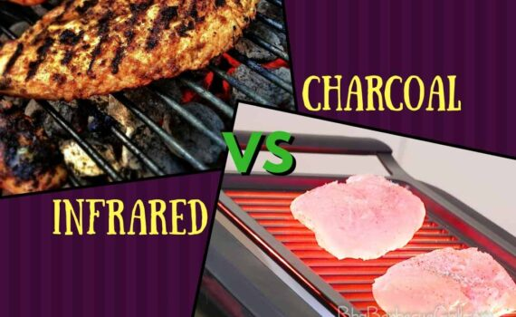 Infrared vs charcoal grill